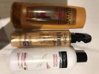 Conditioner and heat protect spray