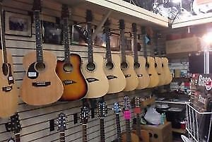 Left-handed Guitars (Largest Selection in London)