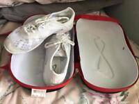 Nfinity cheerleading shoes size 7.5 (uk5)