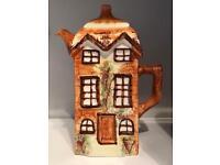 Vintage cottage ware coffee pot, 1940's