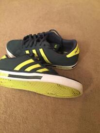 Adidas size 7 trainers
