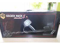 Golden Mask 5 metal detector for sale due to upgrade purchased 28th Nov 2016 in full working order.