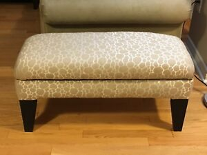 Brand new upholstered bench