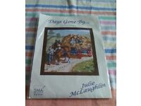 New counted cross stitch from the Days Gone By series called Haymaking.