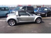 2004 54 SMART ROADSTER 0.7CC TURBO SPEEDSILVER.LOW MILEAGE,LOTS OF S/HISTORY.