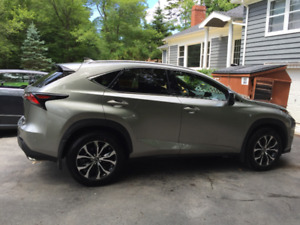 2016 Lexus NX 200t F SPORT SUV - lease take over