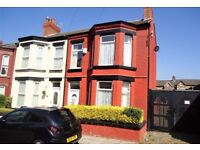 4 Bed Semi for rent in Merton Place, Birkenhead