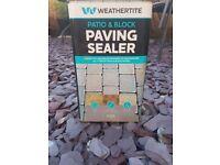Patio and block paving sealer