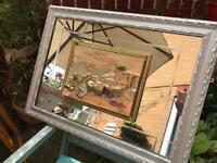 Quirky vintage mirror