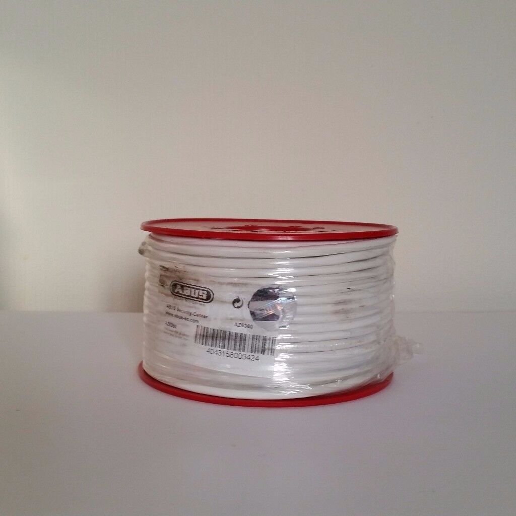 ABUS ALARM CABLE 8x 0.22 mm² CORE AZ6360 139 meters 4 reels