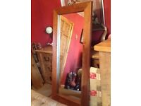 5ft 7 rustic full length mirror