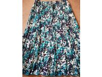 Size 14long length skirt. Fully lined.