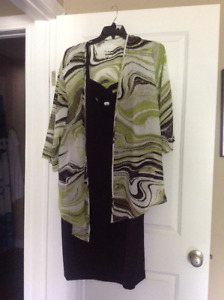 2 piece dress size 22W