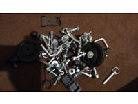 delta fit bench assorted left over parts