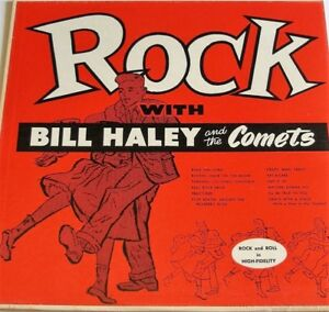Rock with Bill Haley and The Comets Record Album