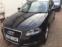 Audi A3 Sportback 1.6SE, 2010, 86,700mls, £5395, Great Car both inside and Out