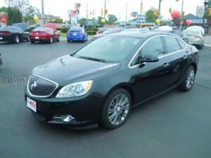 2013 BUICK VERANO LEATHER PACKAGE- SUNROOF, NAVIGATION SYSTEM, R