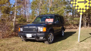 2002 Land Rover Discovery SUV, Crossover