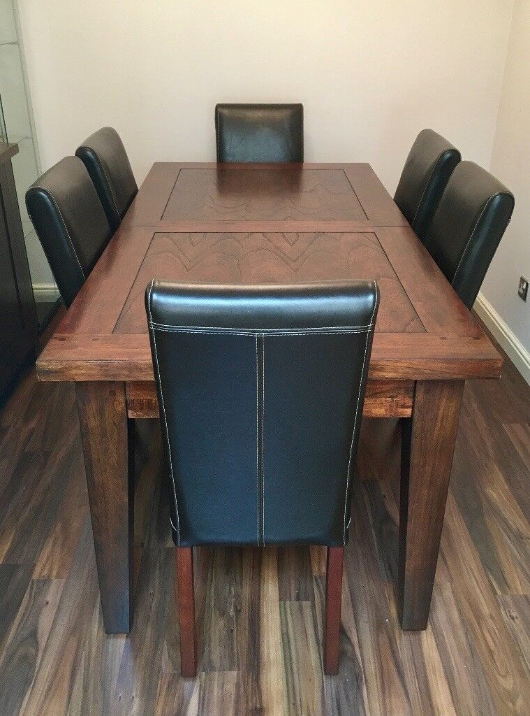 Solid Oak Dining Room Set