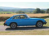 MGB GT 1981 - Genuine mileage - New MOT - Lovely Example