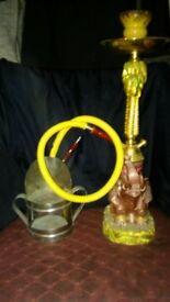 elephant smoking shisha