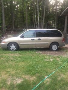 2000 Ford Windstar Minivan, Van
