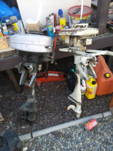 Two 50's 2stoke outboards 60$