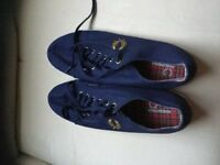 Fred Perry men's canvas shoes