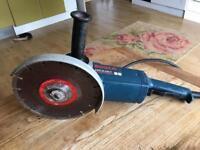 "Nearly New Bosch 9"" Disc cutter GWS20-230H professional 110"