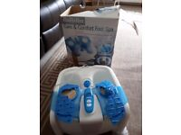 Babyliss footspa/massager with remote control