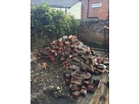 Bricks from old outhouse building - FREE