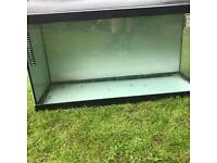 3ft aquarium with hood and light