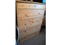 5-drawer chest - Ikea Hemnes - as new
