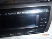 Alpine Cd car audio with Mp3 player and radio