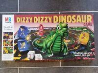 Vintage 1987 MB Dizzy Dizzy Dinosaur Game