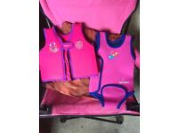 Baby/toddler life jacket and warm suit age 1-2 years
