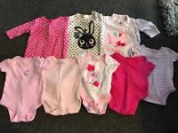 First size girls clothes