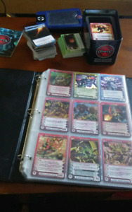 Chaotic tcg card collection