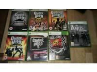 Guitar hero games bundle Xbox360