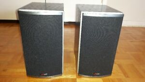 POLK AUDIO RTI4 HIGH PERFORMANCE BOOKSHELF SPEAKERS 125WATTS