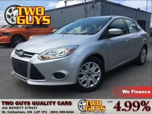 2014 Ford Focus SE LOW KMS!! HEATED FRONT SEATS