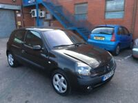 Renault Clio Good Runner with history and long mot