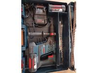 Bosch GBH 36 VF-LI Plus professional drill and spare battery