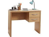 Jarvia Office Desk - Oak Effect