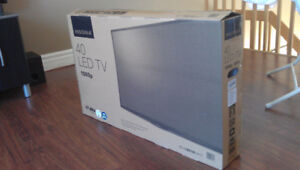 "BRAND NEW - INSIGNIA 40"" FULL HD LED TV + 4 YEARS BEST BUY WARR."