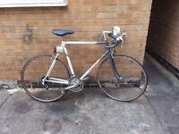 Old school Raleigh racer bike 10 speed