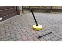 Karcher patio cleaner and dirt blaster cleaning spray lance