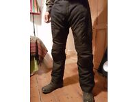 Mens Motorcycle trousers RST Blade textile size M 32