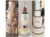 Bespoke Wedding cakes & Birthday Cakes made and delivered. Any design/ size / flavour.