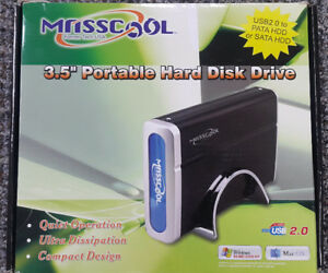 "Masscool 3.5"" Portable Hard Disk Drive"